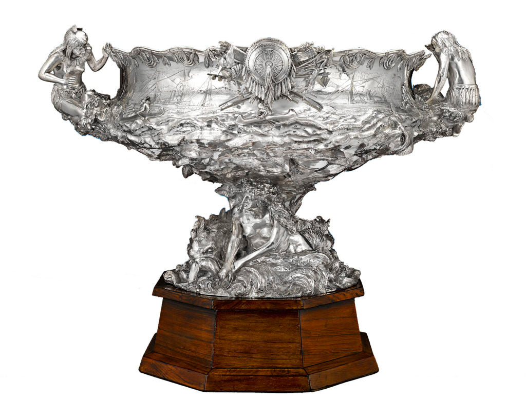 The Bennett Indian Yacht Trophy by Tiffany & Co.
