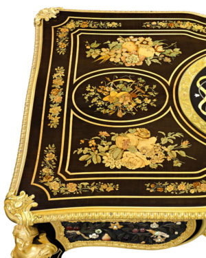 Breathtaking marquetry