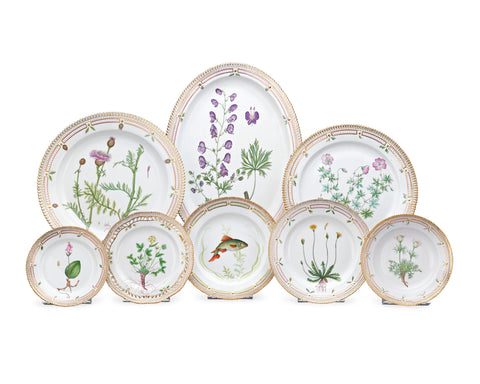 Flora Danica Porcelain Dinner Service by Royal Copenhagen