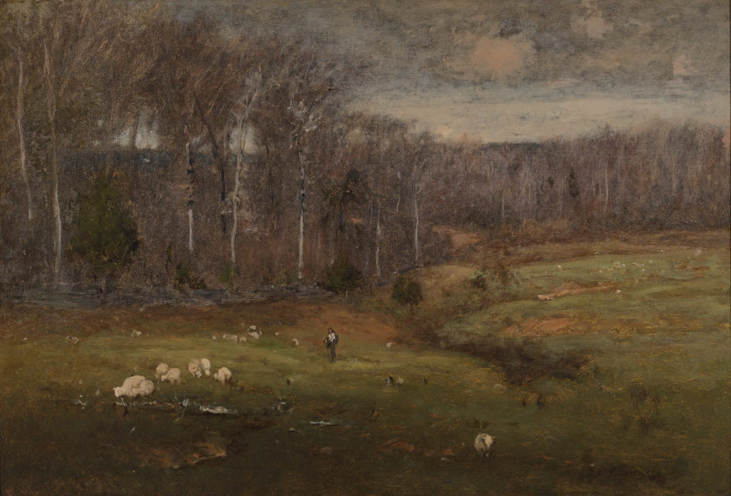 Frosty Morning, Montclair by George Inness