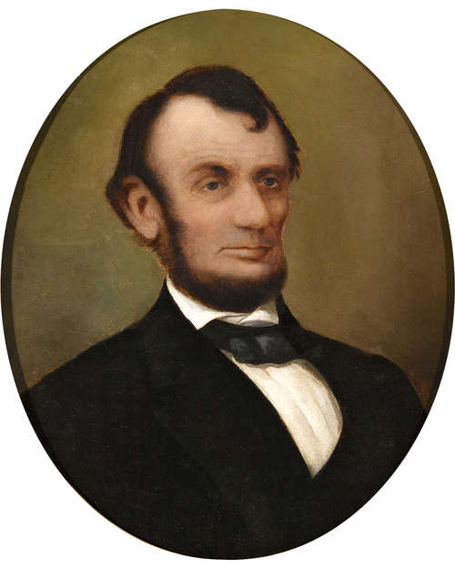Portrait of Abraham Lincoln by David Bustill Bowser
