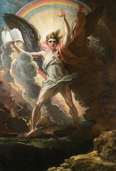A Mighty Angel Standeth by Benjamin West, 1797 (M.S. Rau, New Orleans)