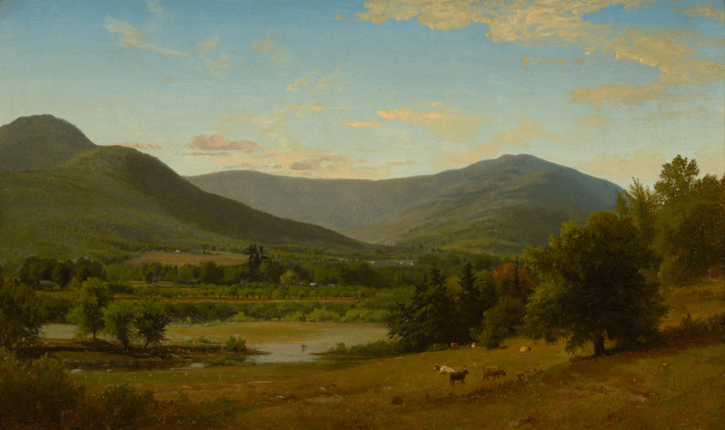 Summer Landscape, White Mountains by George Inness