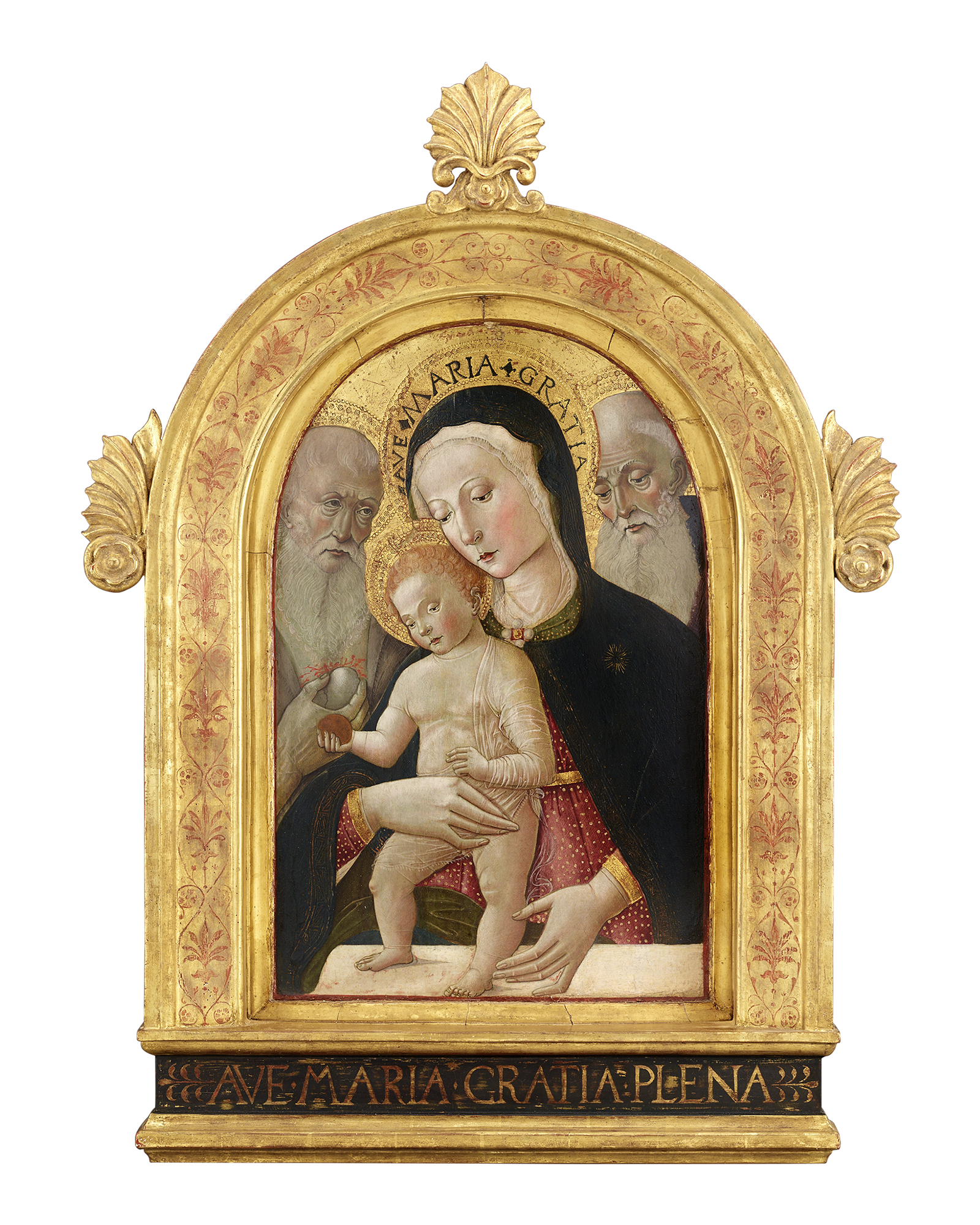 Virgin and Child with Saints Jerome and Bernard by Giovanni, circa 1475