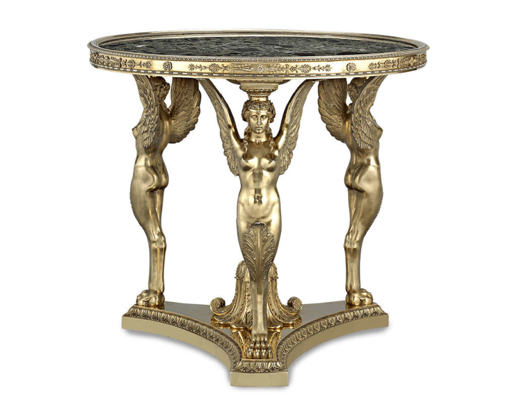 Silver Gilt Exhibition Tea Table by Maison Aucoc, 1904