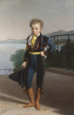 A portrait of the young Napoleon II by Johann Peter Krafft