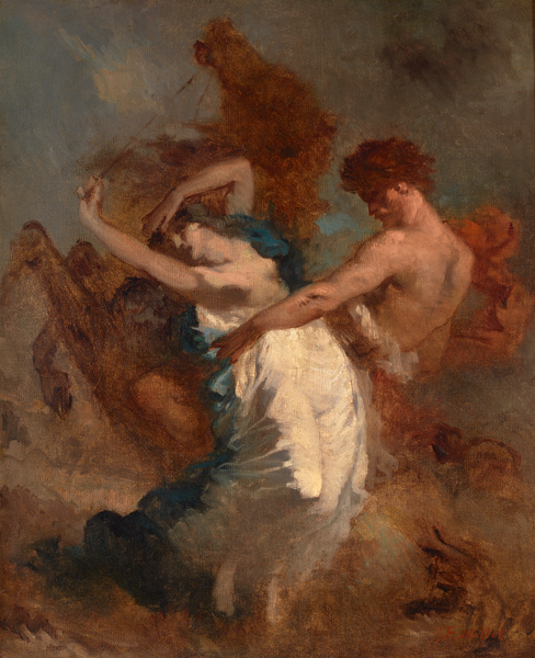 The Abduction of the Sabine Women by Jean-François Millet