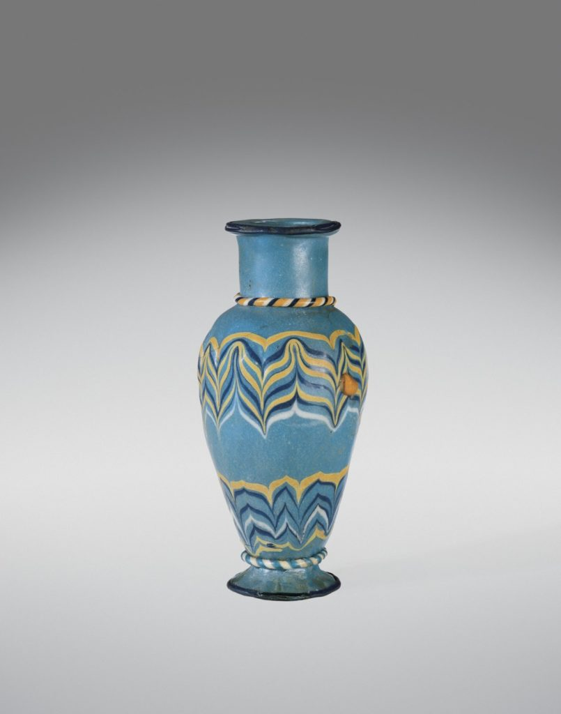 Egyptian Core Formed Vase
