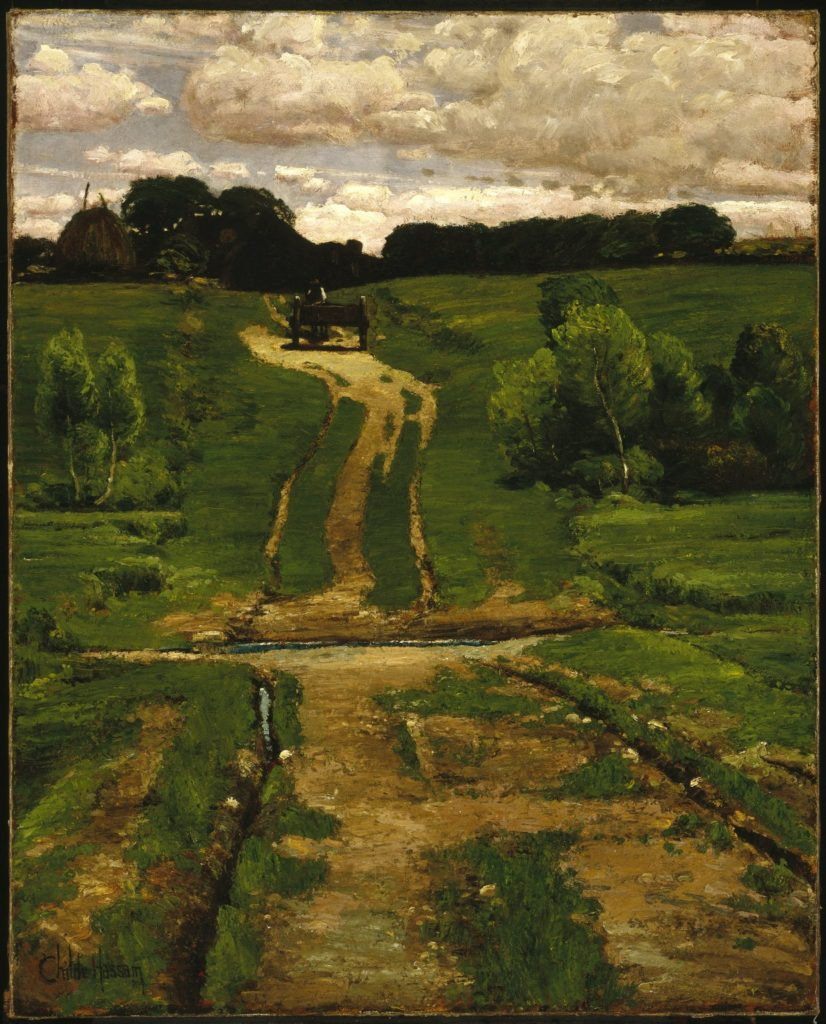 A Back Road by Childe Hassam
