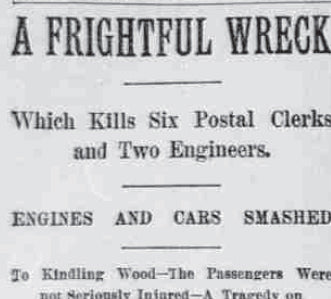 Headline from The Atlanta Constitution, April 19, 1891.