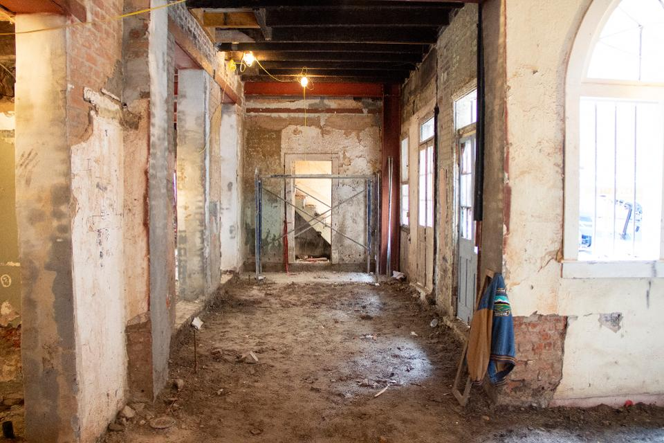 M.S. Rau literally started from the ground up when renovating and expanding the two buildings it purchased in New Orleans' French Quarter.
