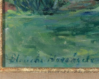 Hoschedé-Monet's signature