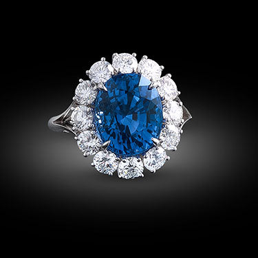 Blue Sapphire Perfect Ring