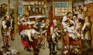 The Payment of Tithe by Pieter Brueghel the Younger