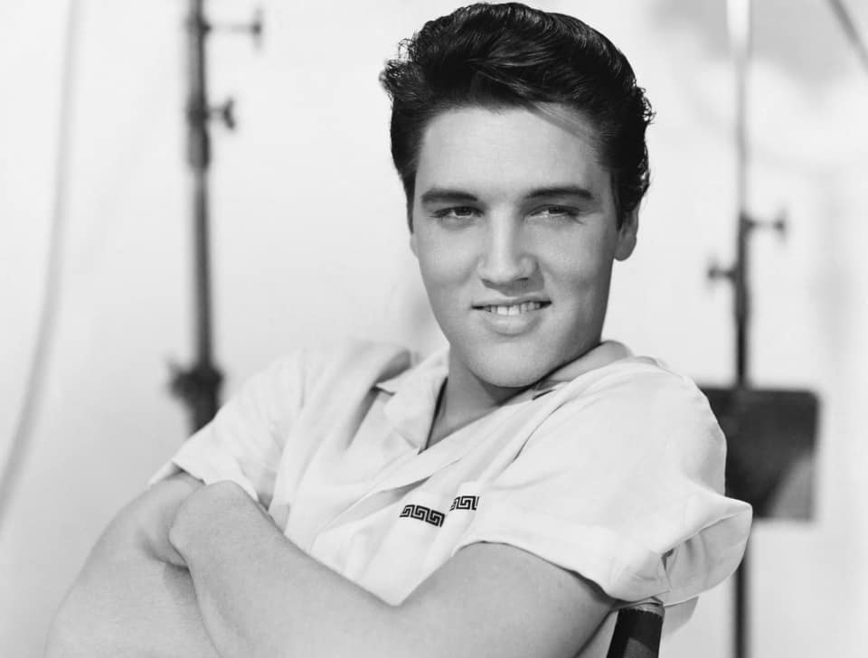 A young Elvis in 1958. Image: John Springer Collection / Getty Images