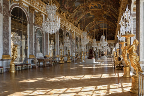 [Image: Chateau_Versailles_Galerie_des_Glaces.jpg]The Hall of Mirrors in the Palace of Versailles