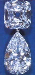Queen Mary's Brooch with Cullinan III and Cullinan IV, The Lesser Stars of Africa