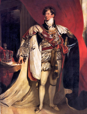 Portrait of the Prince of Wales in Garter Robes by Sir Thomas Lawrence, 1816