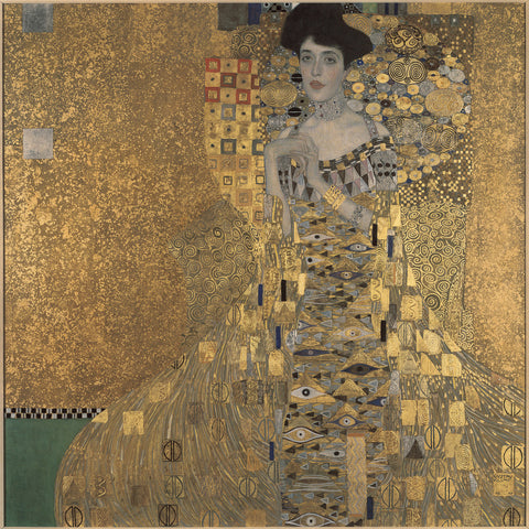 Portrait of Adele Bloch-Bauer I by Gustav Klimt, 1907, Neue Galerie (New York)