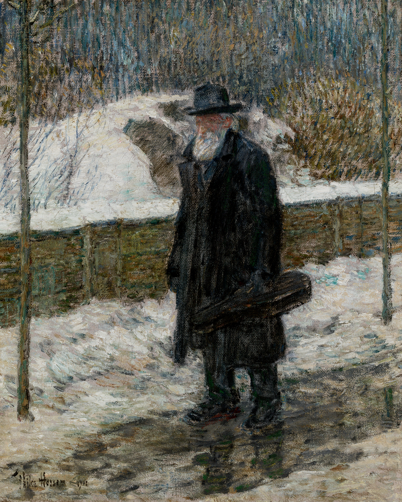 The Violinist by Childe Hassam