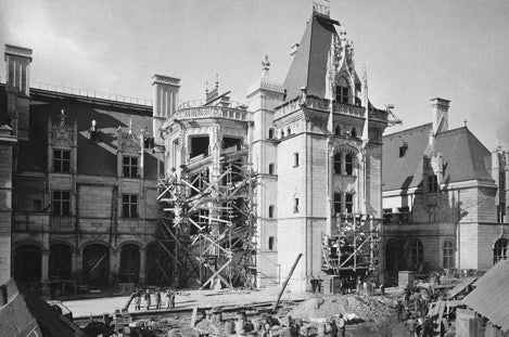 Construction of Biltmore House