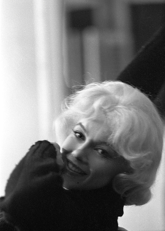 "Marilyn form the ""Let's Make Love"" photoshoot, April 1960."