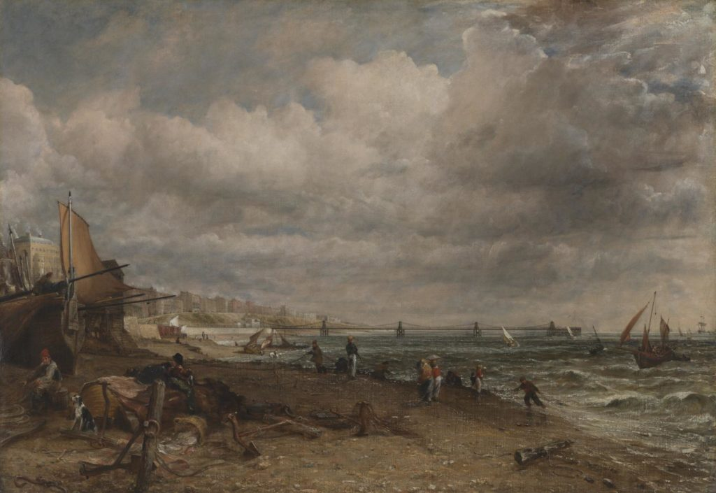 Chain Pier, Brighton by John Constable