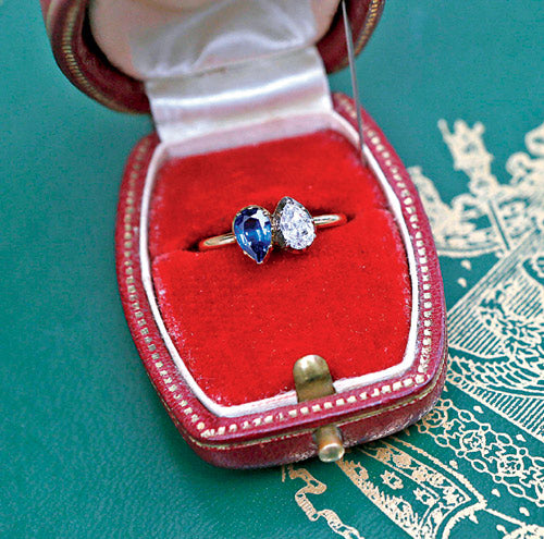 The engagement ring Napoléon gave to his Josephine