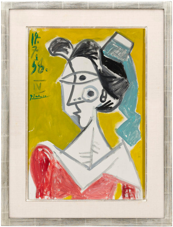 L'Arlésienne by Pablo Picasso. Dated 1958. M.S. Rau