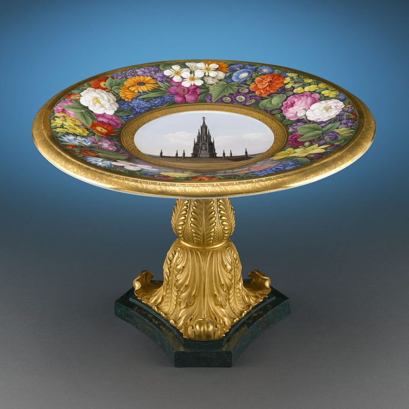 This incredible KPM tazza was commissioned by King Friedrich Wilhelm III for Pope Pius VII - See more at: https://uat.rauantiques.com/blog/?p=4614#sthash.cn5QUS7p.dpuf