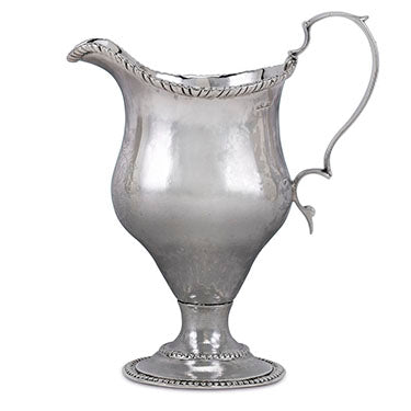 American Silver Creamer by Paul Revere. Stamped 'REVERE'. Circa 1783