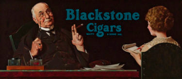 Blackstone Cigars by Norman Rockwell