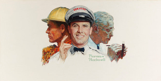 Oil's First Century by Norman Rockwell