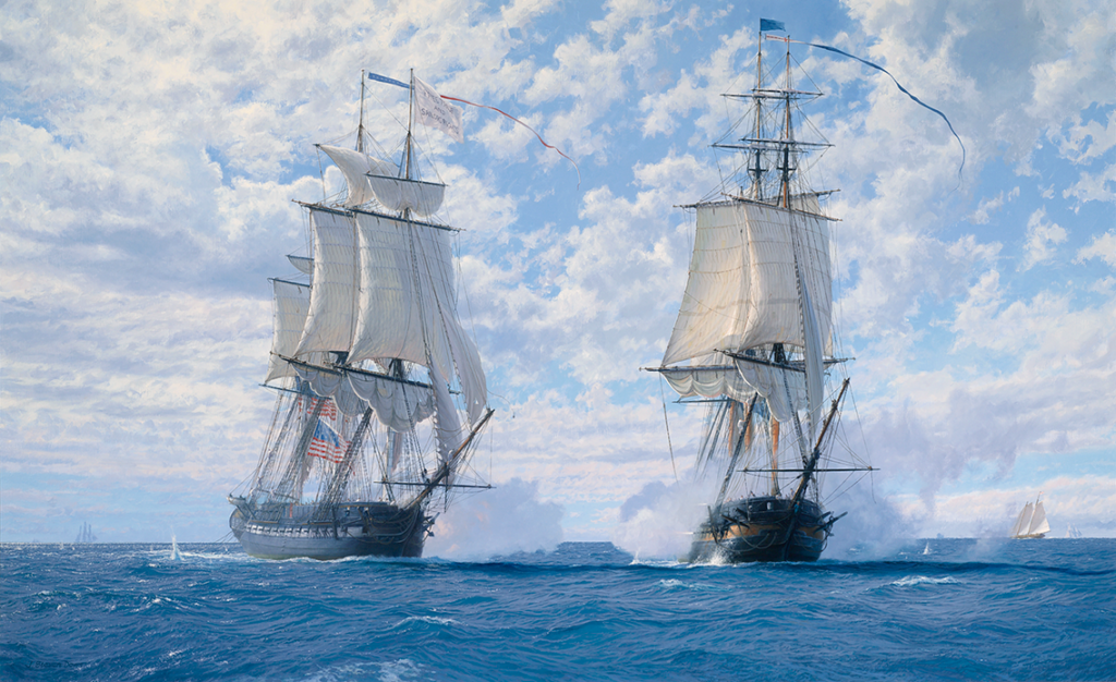 The Capture of USS Chesapeake by John Steven Dews