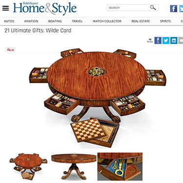 Wilde Card Games Table