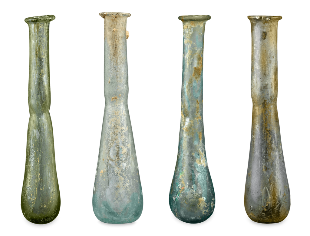 Ancient Roman Glass Alabastra