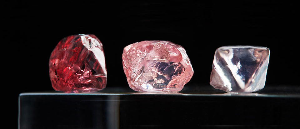 Fancy Pink Diamonds differ in tone and saturation