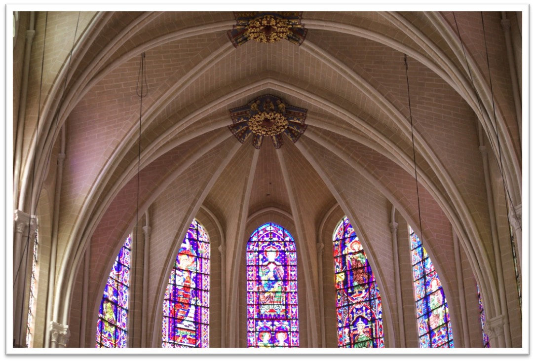 Stained Glass, Chatres Cathedral, France