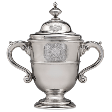 This incredible double-handled covered cup is one of the earliest works by Paul de Lamerie