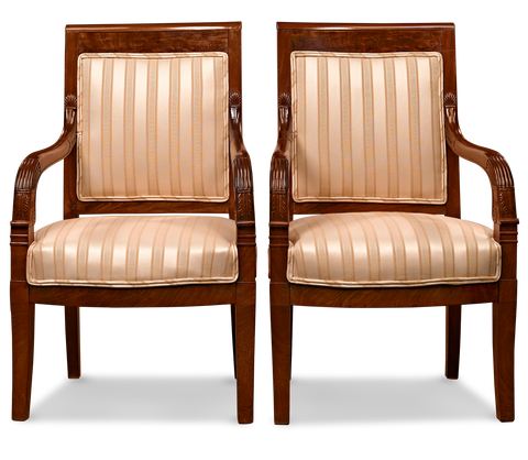 Directorie Upholstered Armchairs