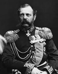 Tsar Alexander II, for whom the Alexandrite gemstone is named
