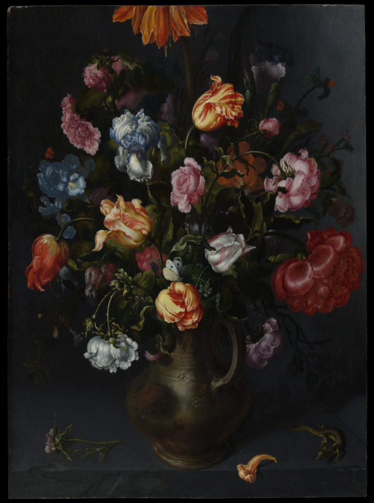 A Vase with Flowers by Jacob Vosmaer, c. 1613