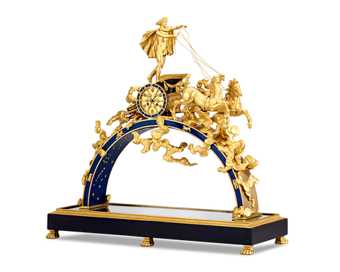 Empire-Period Apollo Mantel Clock by Pierre-Philippe Thomire