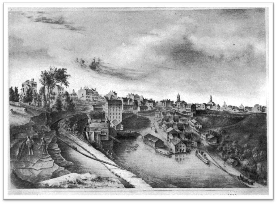 Erie Canal Opens in 1825