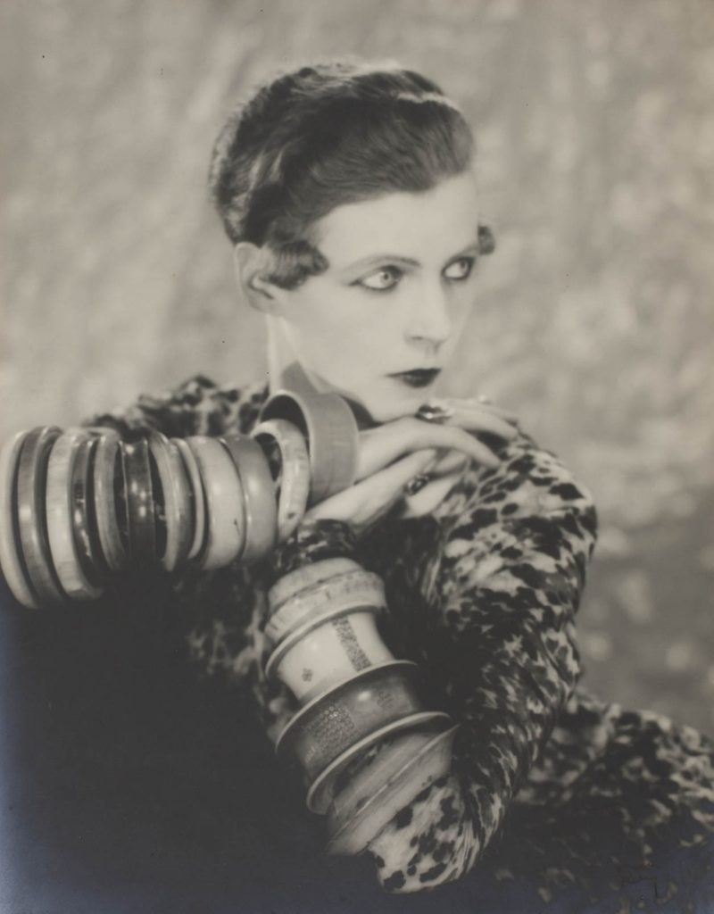Nancy Cunard photographed by Man Ray