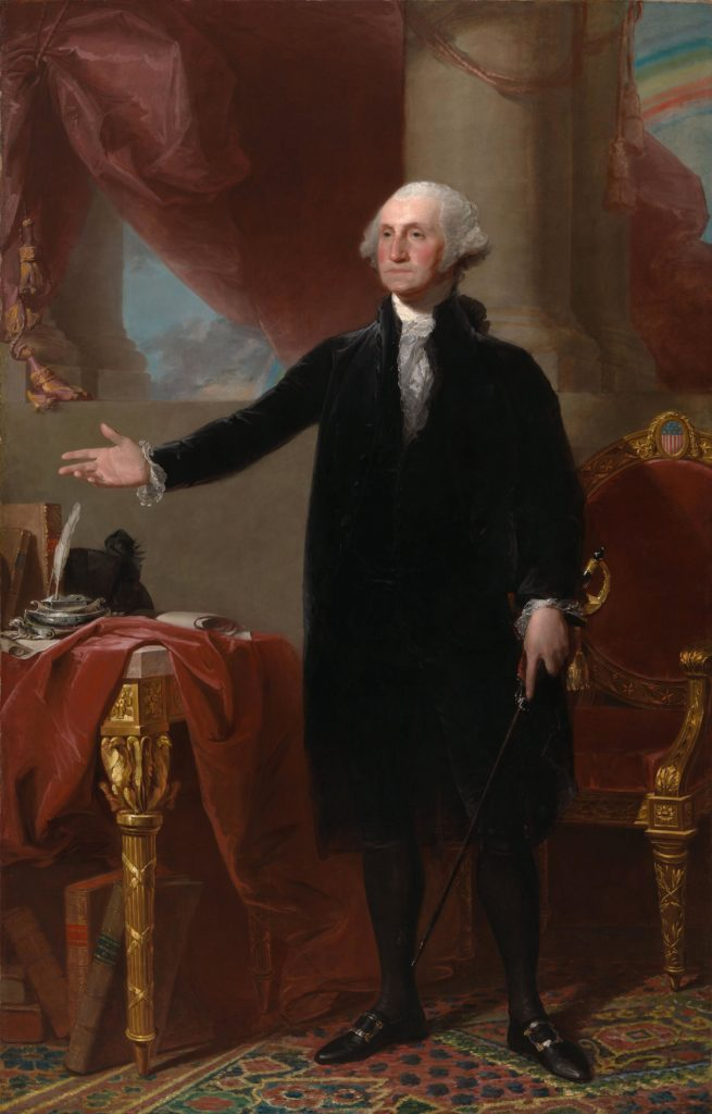President George Washington by Gilbert Stuart
