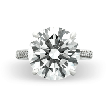 The ability for a white diamond to sparkle intensely, and display incredible brilliance, is reliant upon its cut