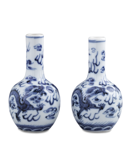 Chinese Porcelain Blue and White Vases