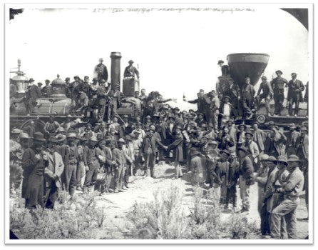 Transcontinental Railway, Completed 1869