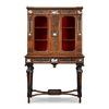 Signed pieces of furniture, like this amazing Etruscan-style cabinet, are very rare and desirable